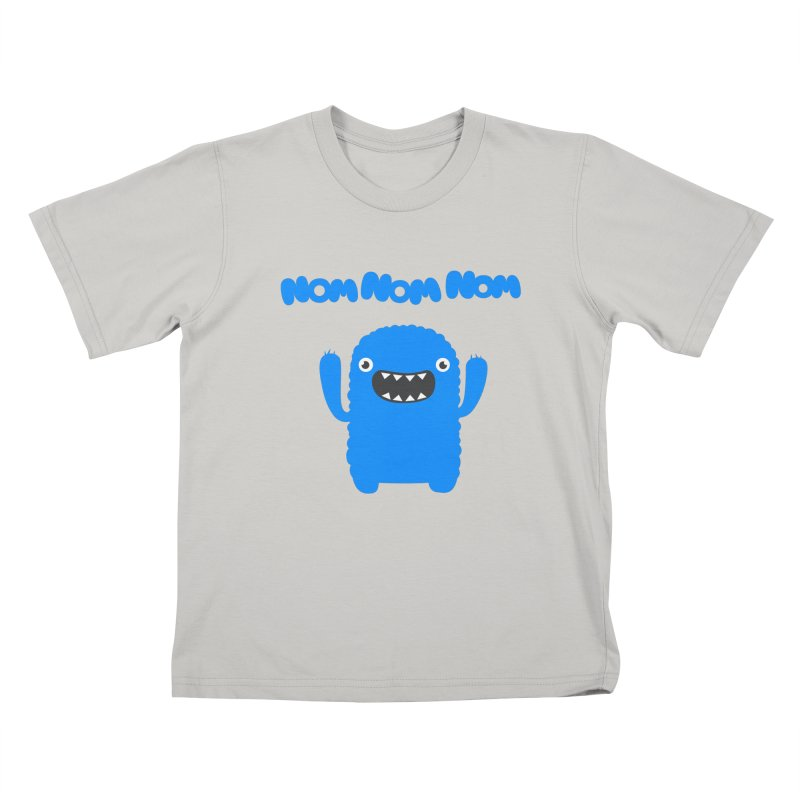 Om nom nom nom Kids T-Shirt by Badbugs's Artist Shop