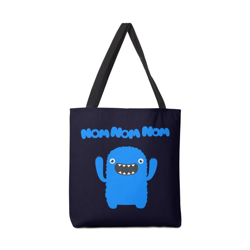 Om nom nom nom Accessories Bag by Badbugs's Artist Shop