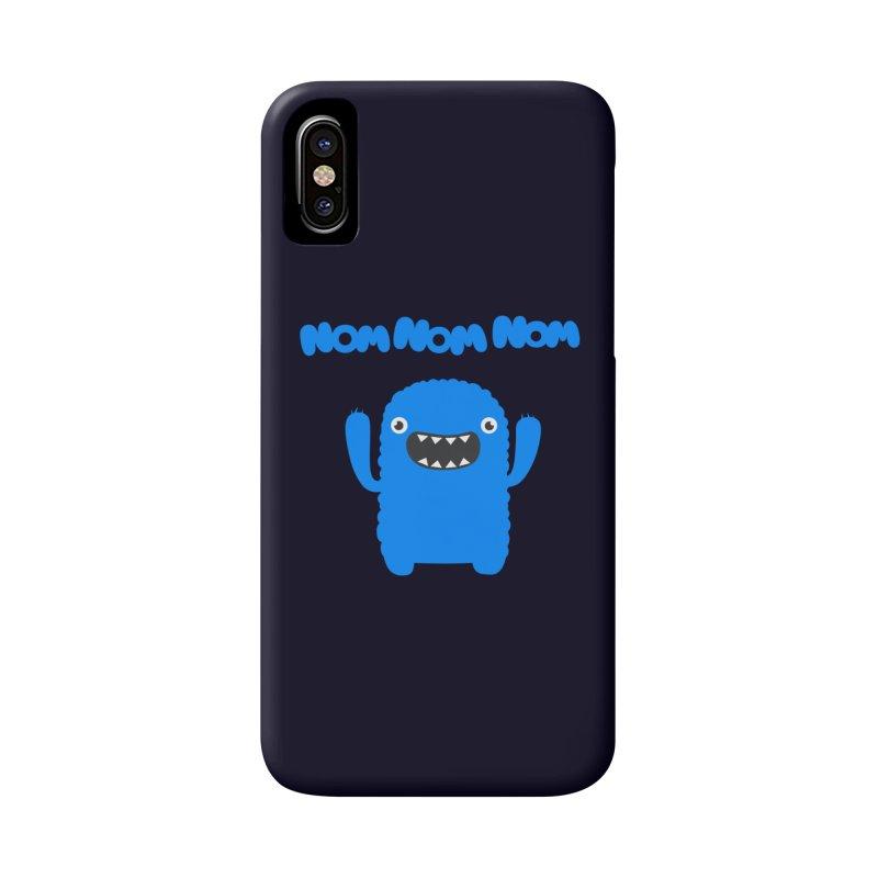 Om nom nom nom Accessories Phone Case by Badbugs's Artist Shop