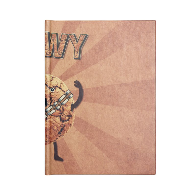 Chewy Chocolate Cookie Wookiee Accessories Notebook by Badbugs's Artist Shop