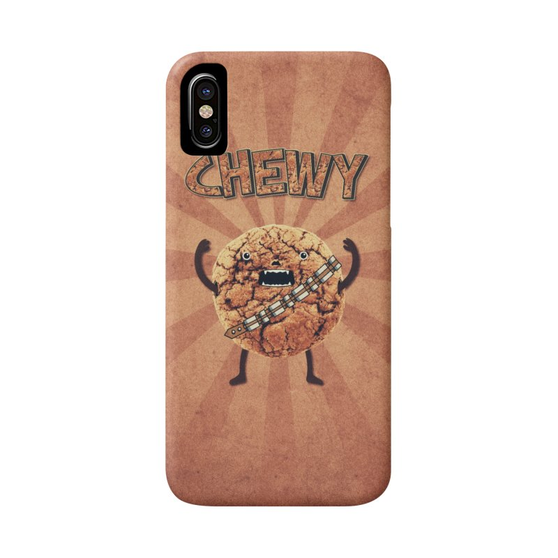 Chewy Chocolate Cookie Wookiee Accessories Phone Case by Badbugs's Artist Shop
