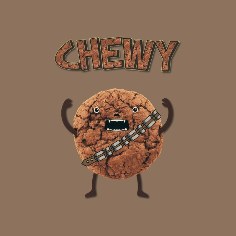 Chewy Chocolate Cookie Wookiee None  by Badbugs's Artist Shop