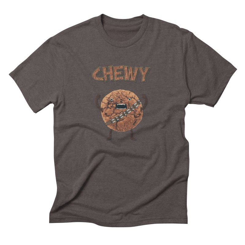 Chewy Chocolate Cookie Wookiee Men's Triblend T-shirt by Badbugs's Artist Shop
