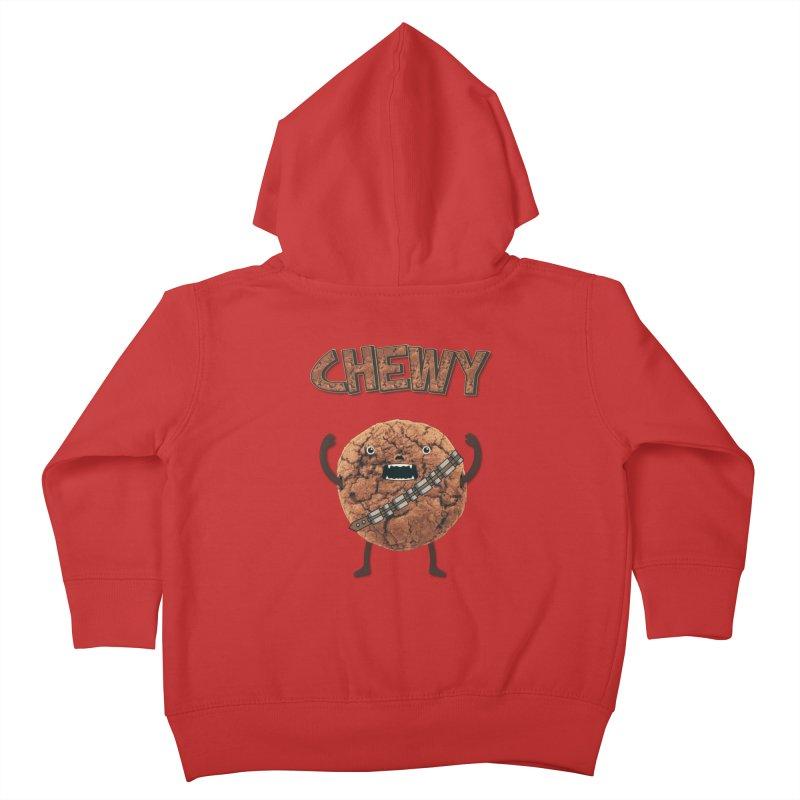 Chewy Chocolate Cookie Wookiee Kids Toddler Zip-Up Hoody by Badbugs's Artist Shop