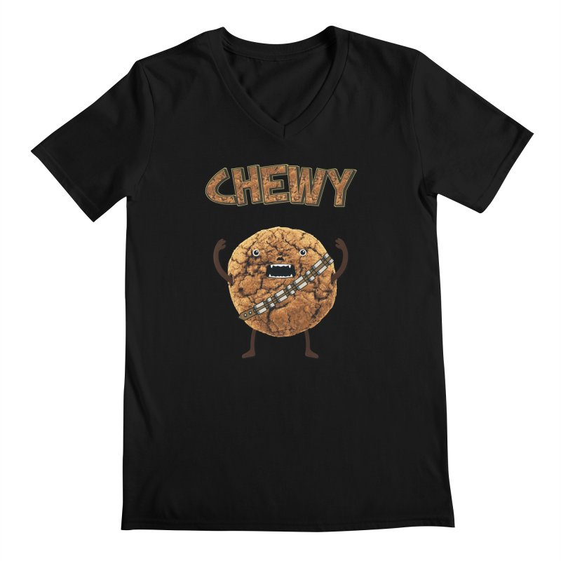 Chewy Chocolate Cookie Wookiee Men's  by Badbugs's Artist Shop