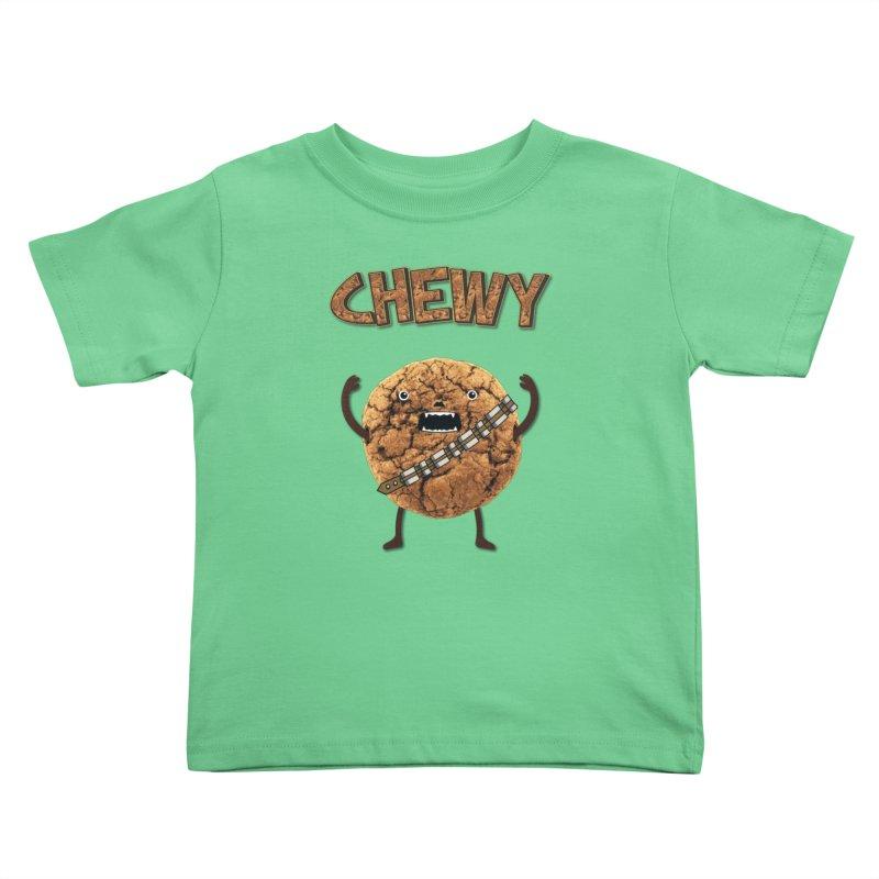 Chewy Chocolate Cookie Wookiee Kids  by Badbugs's Artist Shop
