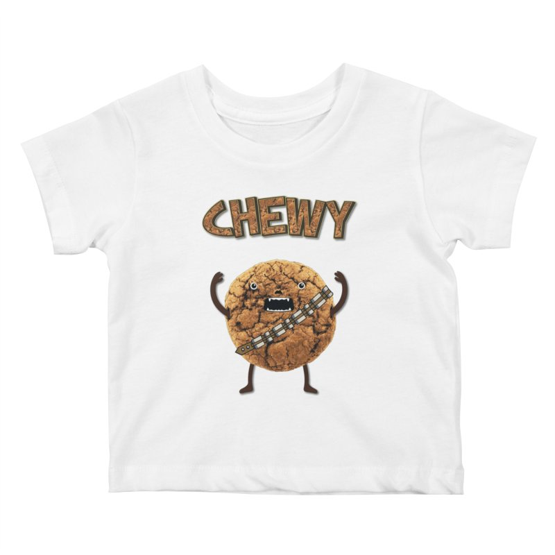 Chewy Chocolate Cookie Wookiee Kids  by Badbugs's Artist Shop