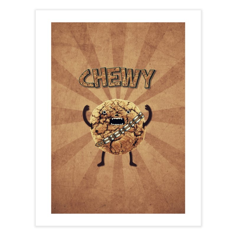 Chewy Chocolate Cookie Wookiee Home  by Badbugs's Artist Shop