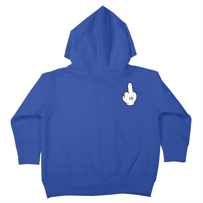 HATERS GONNA HATE! Kids Toddler Zip-Up Hoody by Badbugs's Artist Shop