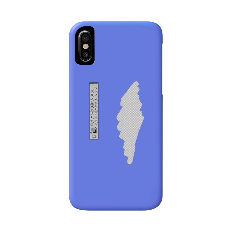 Graphic Designer (photoshop fake erase) Accessories Phone Case by Badbugs's Artist Shop