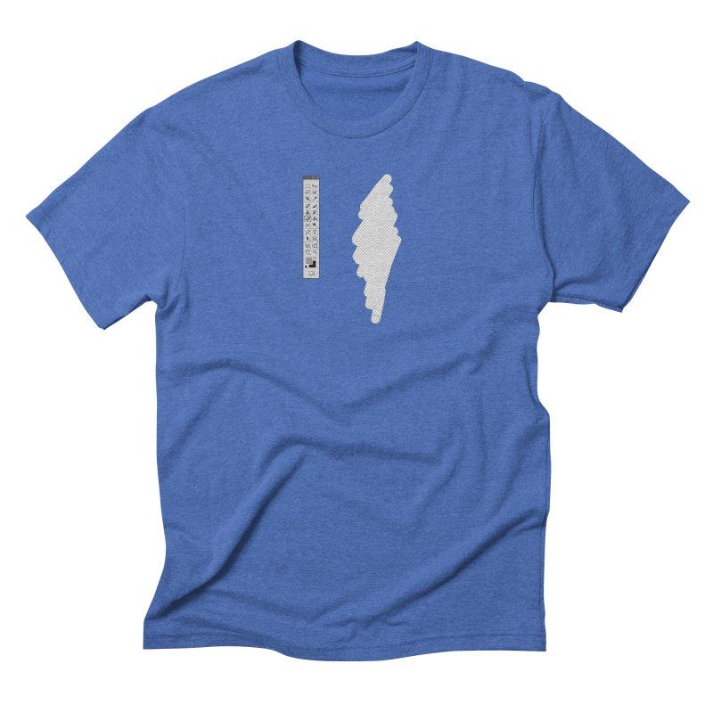 Graphic Designer (photoshop fake erase) Men's Triblend T-Shirt by Badbugs's Artist Shop