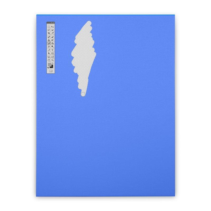 Graphic Designer (photoshop fake erase) Home Stretched Canvas by Badbugs's Artist Shop
