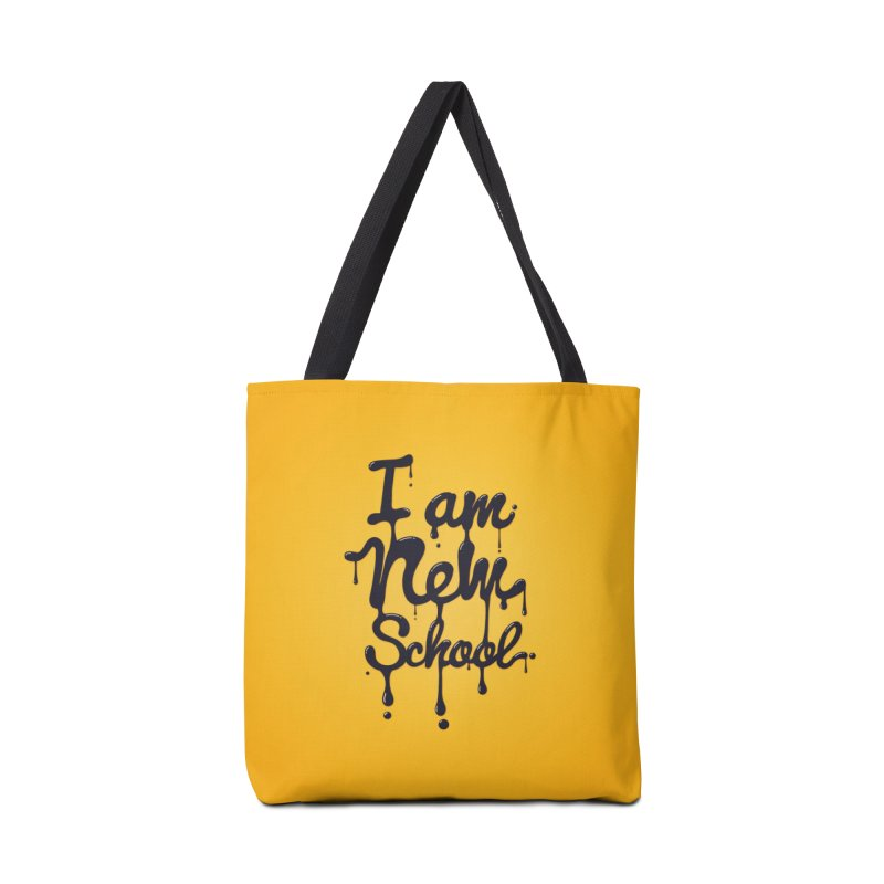 I am new school! Oil Typography Accessories  by Badbugs's Artist Shop