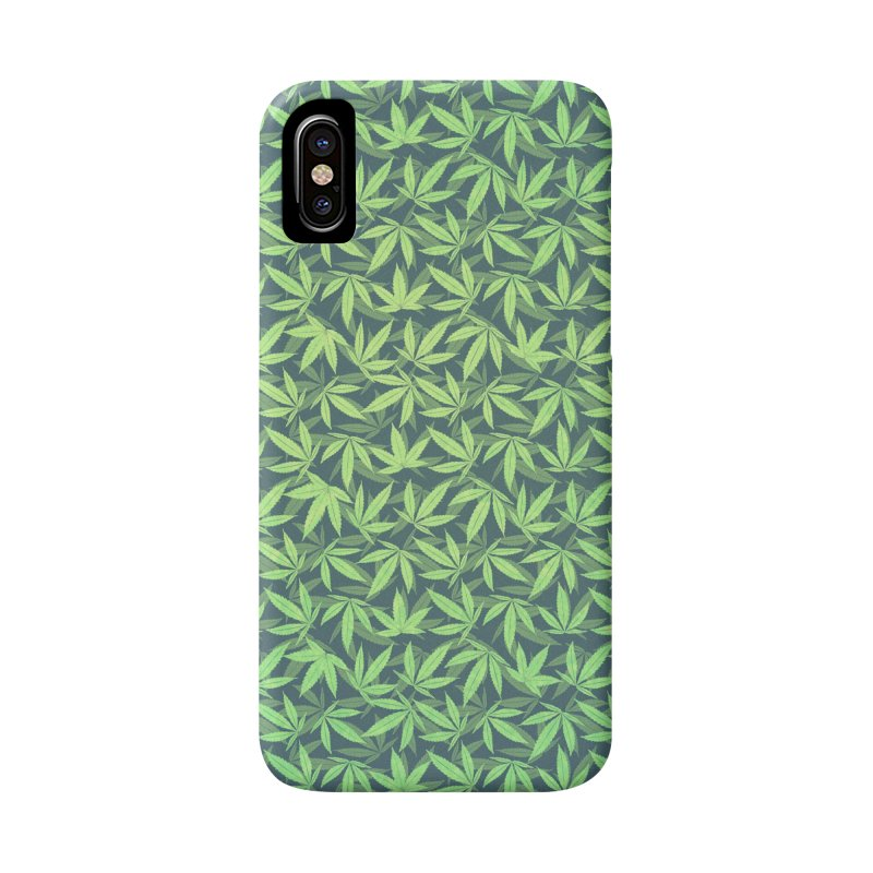 Cannabis / Hemp / 420 / Marijuana  - Pattern Accessories Phone Case by Badbugs's Artist Shop