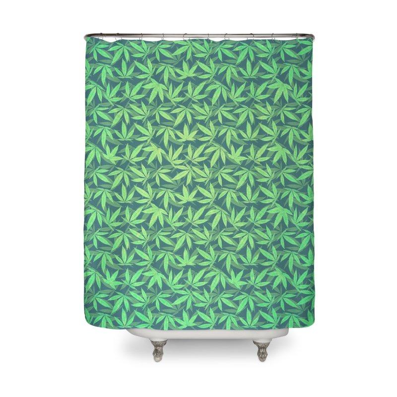 Cannabis / Hemp / 420 / Marijuana  - Pattern Home Shower Curtain by Badbugs's Artist Shop
