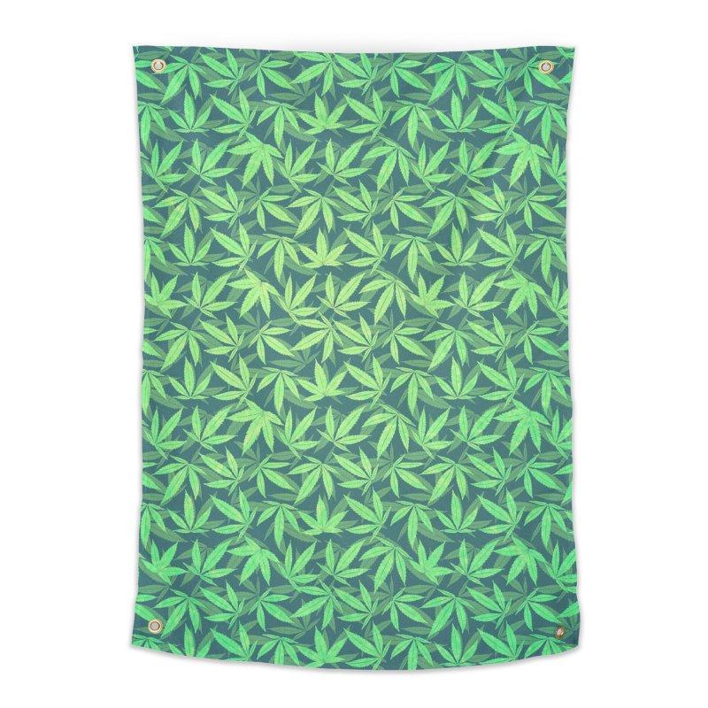 Cannabis / Hemp / 420 / Marijuana  - Pattern Home Tapestry by Badbugs's Artist Shop