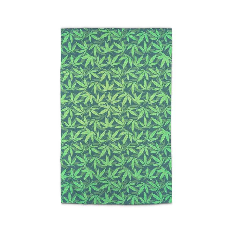 Cannabis / Hemp / 420 / Marijuana  - Pattern Home Rug by Badbugs's Artist Shop