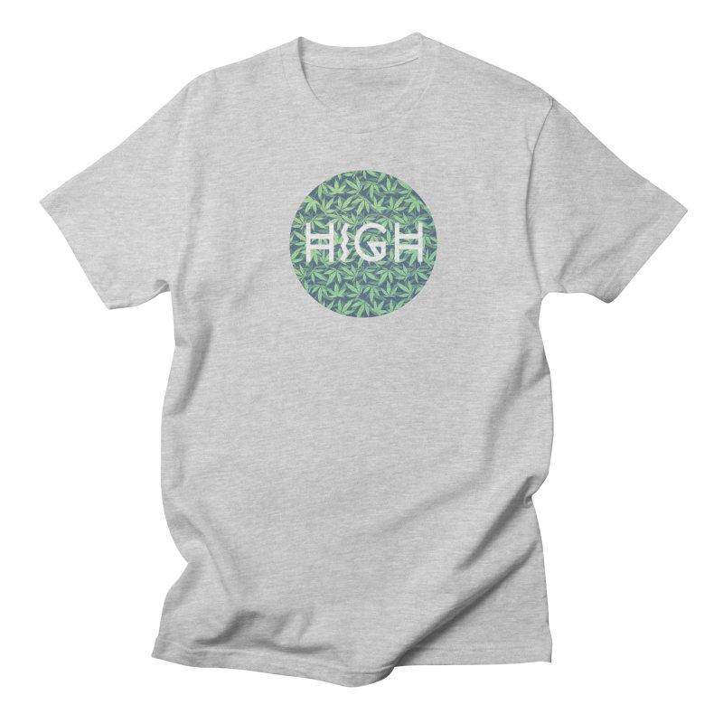 Cannabis / Hemp / 420 / Marijuana  - Pattern Men's T-Shirt by Badbugs's Artist Shop