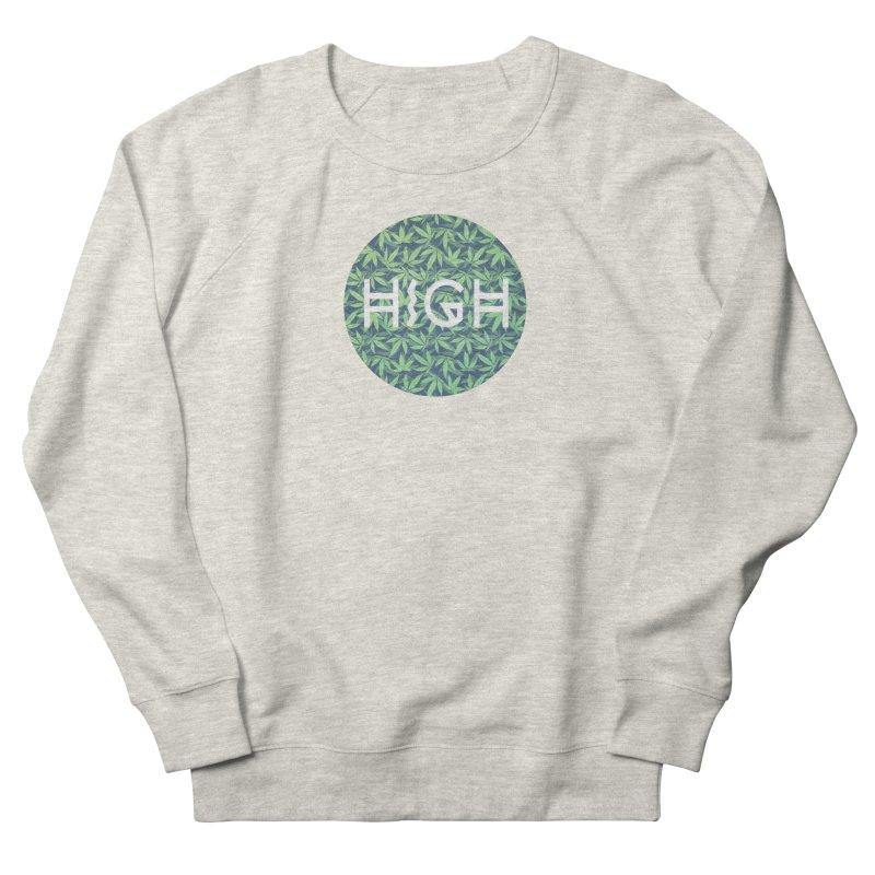 Cannabis / Hemp / 420 / Marijuana  - Pattern Women's Sweatshirt by Badbugs's Artist Shop