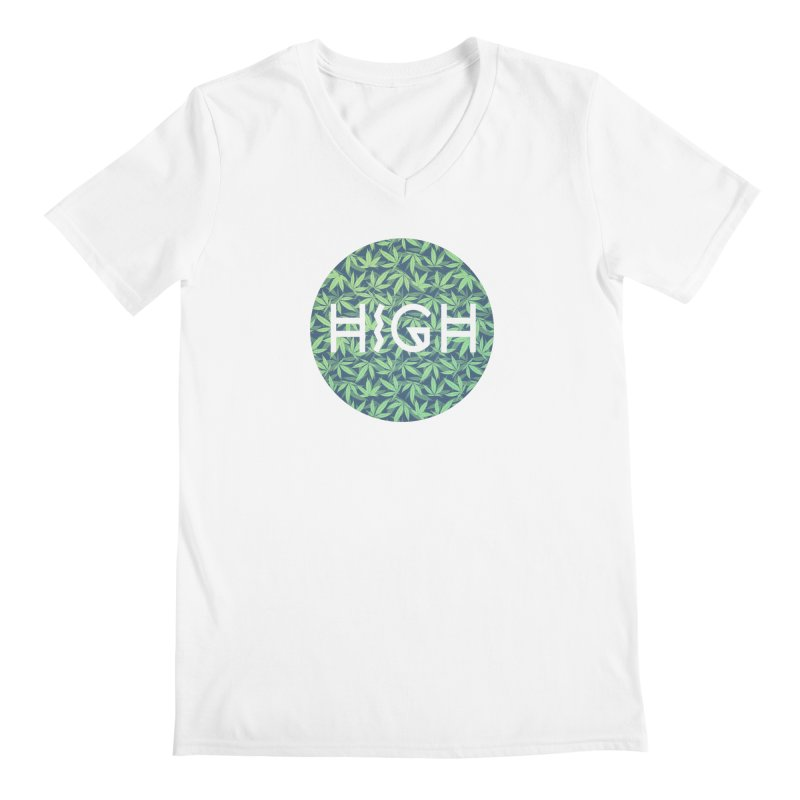 Cannabis / Hemp / 420 / Marijuana  - Pattern Men's  by Badbugs's Artist Shop