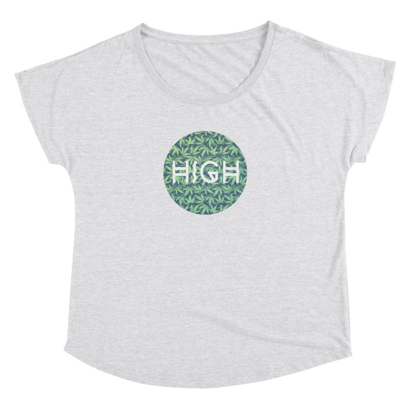 Cannabis / Hemp / 420 / Marijuana  - Pattern Women's Dolman by Badbugs's Artist Shop
