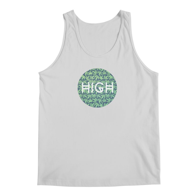 Cannabis / Hemp / 420 / Marijuana  - Pattern Men's Tank by Badbugs's Artist Shop