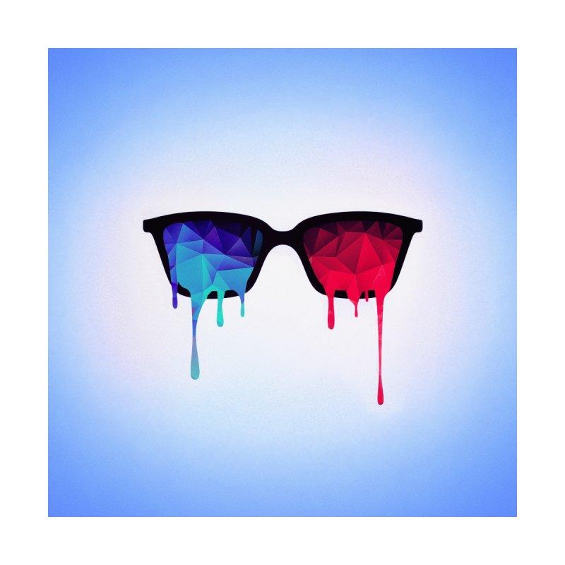 3D Psychedelic / Goa Meditation Glasses by Badbugs's Artist Shop