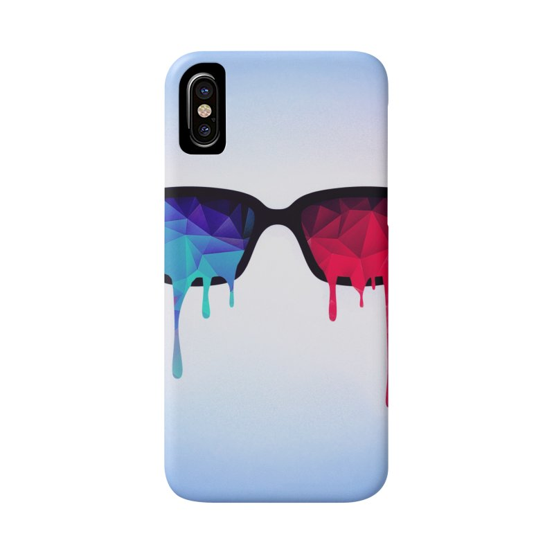 3D Psychedelic / Goa Meditation Glasses Accessories Phone Case by Badbugs's Artist Shop