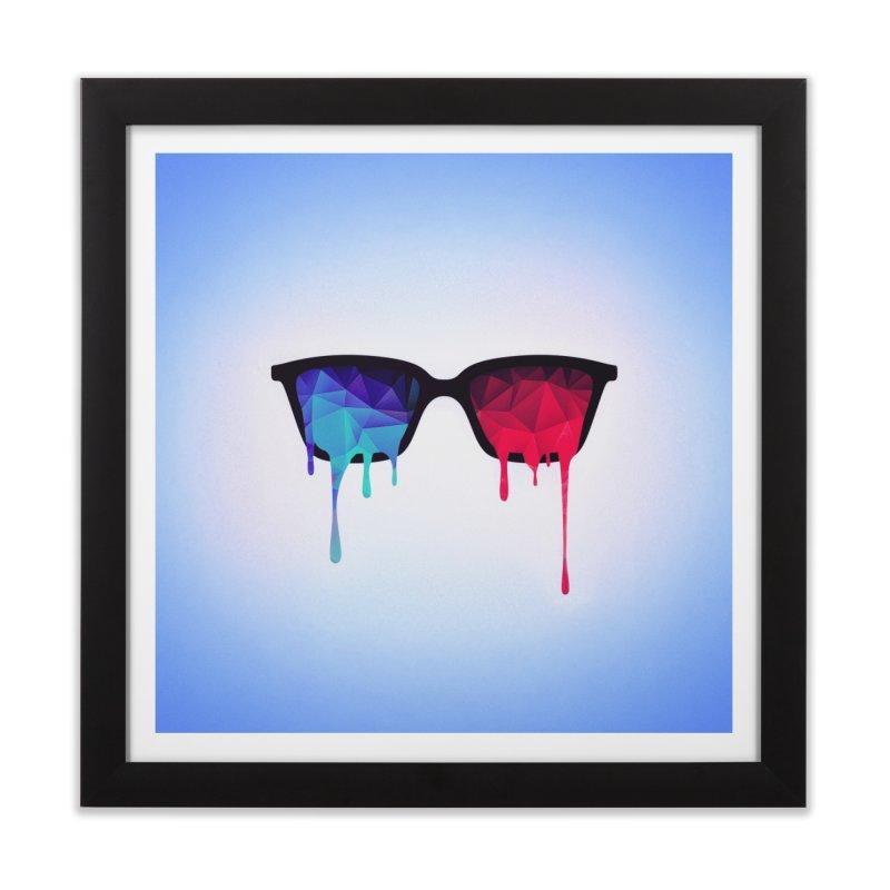 3D Psychedelic / Goa Meditation Glasses Home  by Badbugs's Artist Shop