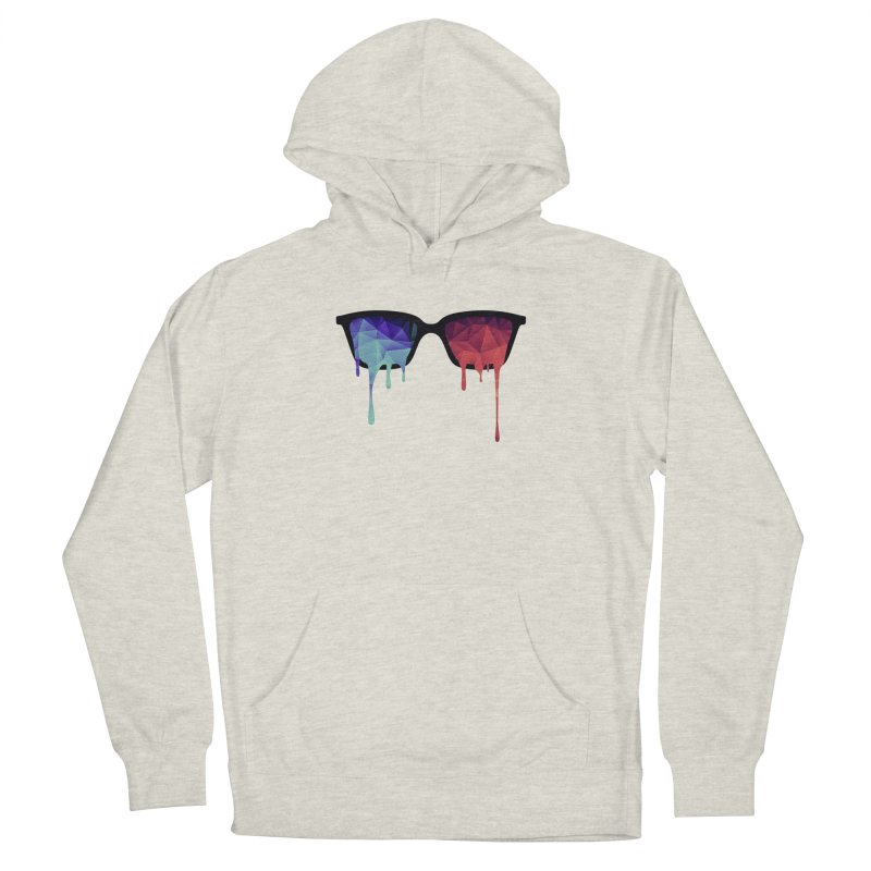 3D Psychedelic / Goa Meditation Glasses Women's Pullover Hoody by Badbugs's Artist Shop