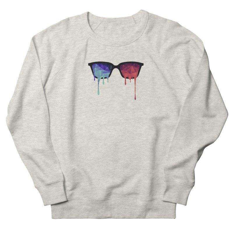 3D Psychedelic / Goa Meditation Glasses Women's Sweatshirt by Badbugs's Artist Shop