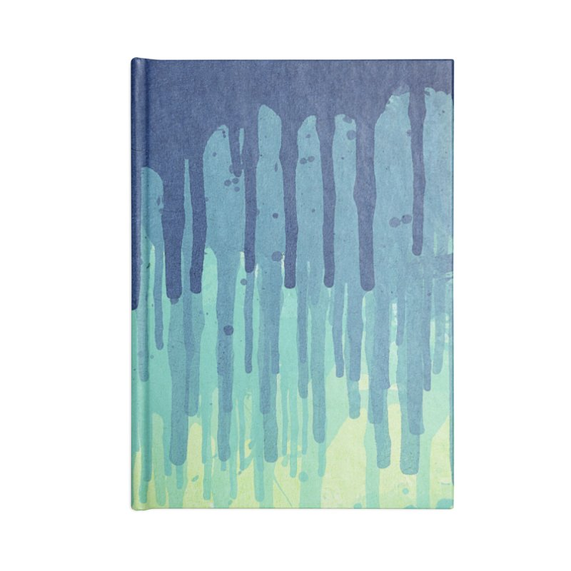 Green Grunge Color Splatter Graffiti Backstreet Wall Background Accessories Notebook by Badbugs's Artist Shop