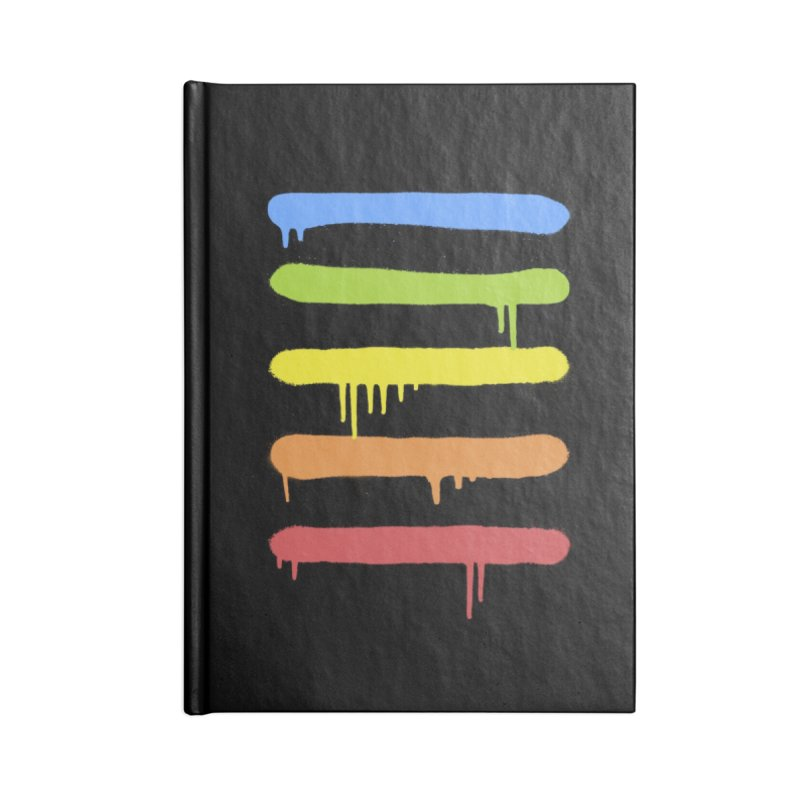 Trendy Cool Graffiti Tag Lines Accessories Notebook by Badbugs's Artist Shop