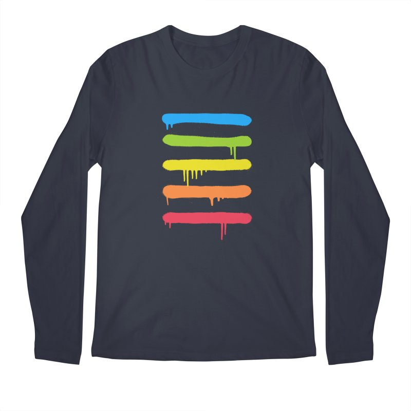 Trendy Cool Graffiti Tag Lines Men's Longsleeve T-Shirt by Badbugs's Artist Shop