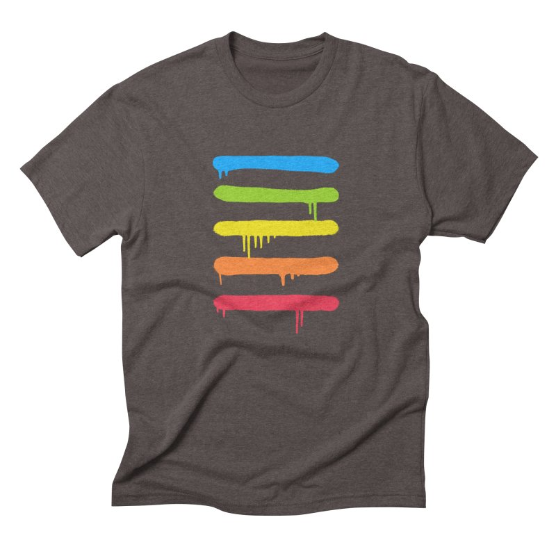 Trendy Cool Graffiti Tag Lines Men's Triblend T-Shirt by Badbugs's Artist Shop