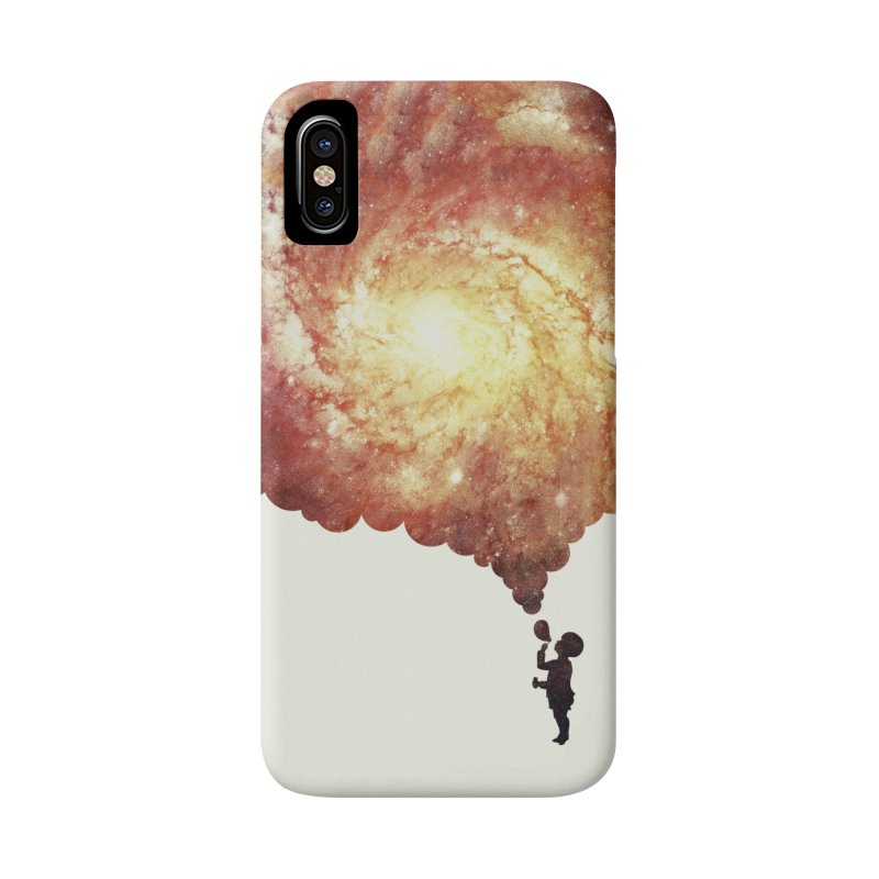 The universe in a soap-bubble! (Awesome Space / Nebula / Galaxy Negative Space Artwork) Accessories Phone Case by Badbugs's Artist Shop