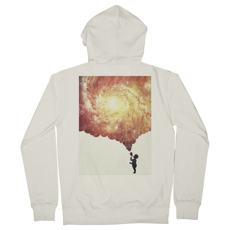 The universe in a soap-bubble! (Awesome Space / Nebula / Galaxy Negative Space Artwork) Men's  by Badbugs's Artist Shop
