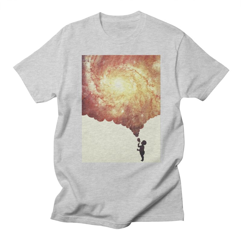 The universe in a soap-bubble! (Awesome Space / Nebula / Galaxy Negative Space Artwork) Women's Unisex T-Shirt by Badbugs's Artist Shop