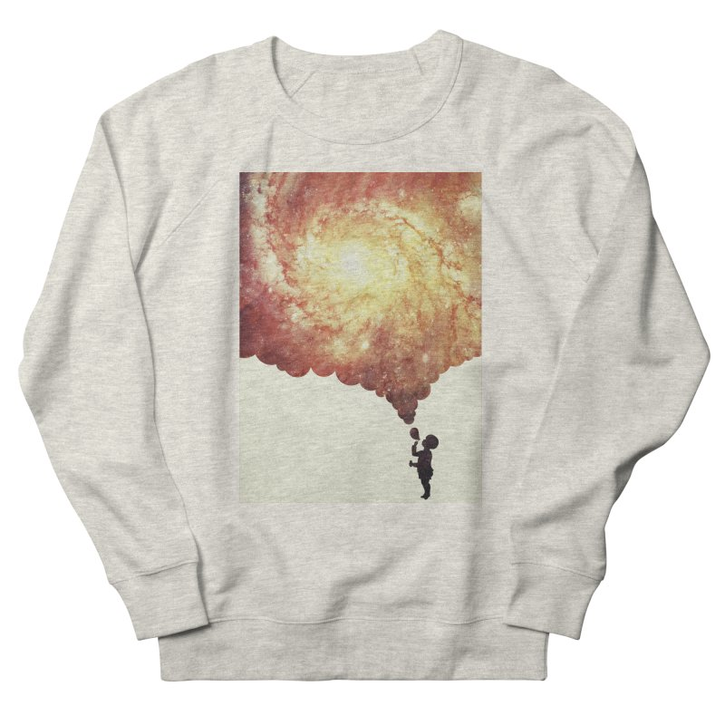 The universe in a soap-bubble! (Awesome Space / Nebula / Galaxy Negative Space Artwork) Women's Sweatshirt by Badbugs's Artist Shop