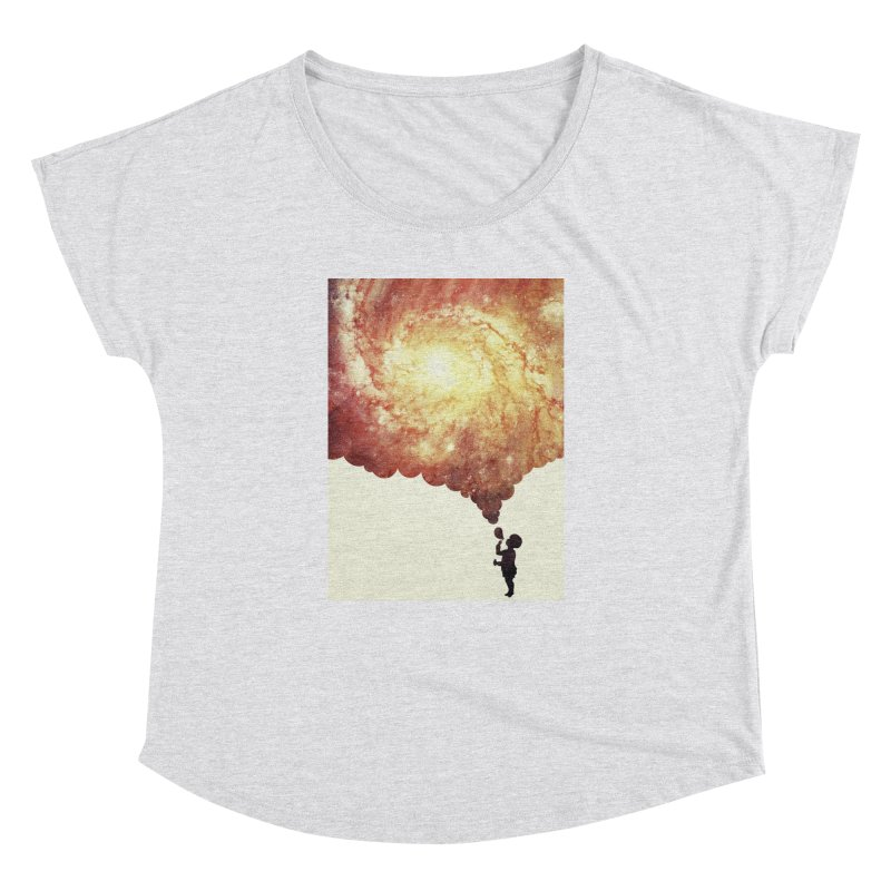 The universe in a soap-bubble! (Awesome Space / Nebula / Galaxy Negative Space Artwork) Women's Dolman by Badbugs's Artist Shop