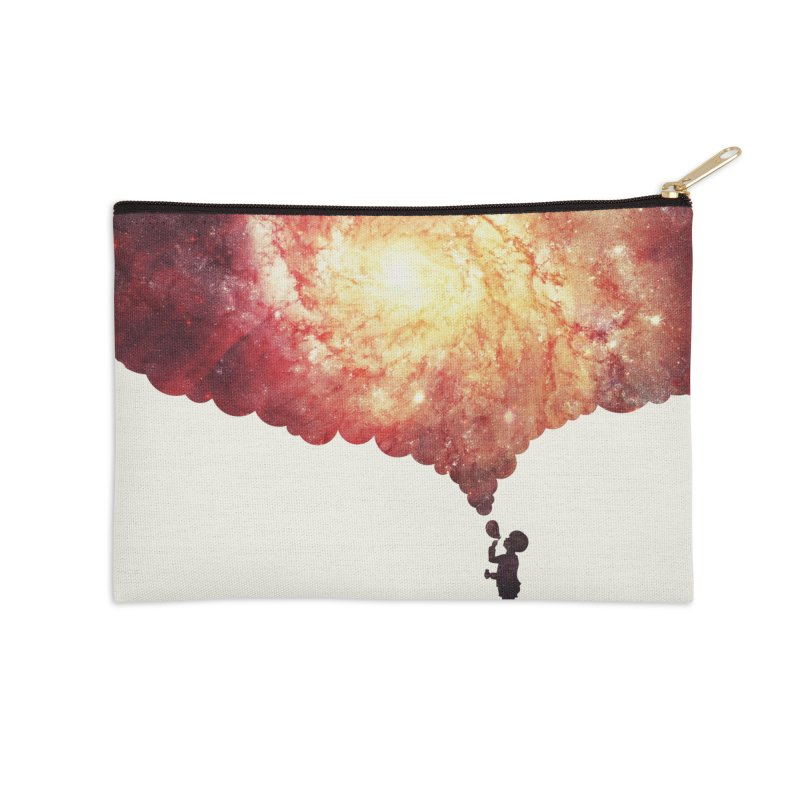 The universe in a soap-bubble! (Awesome Space / Nebula / Galaxy Negative Space Artwork) Accessories Zip Pouch by Badbugs's Artist Shop