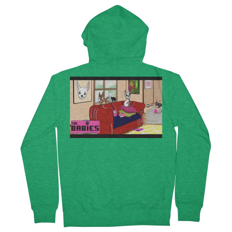 The Babies Animated Series  Women's Zip-Up Hoody by Bad Date Kate's Artist Shop