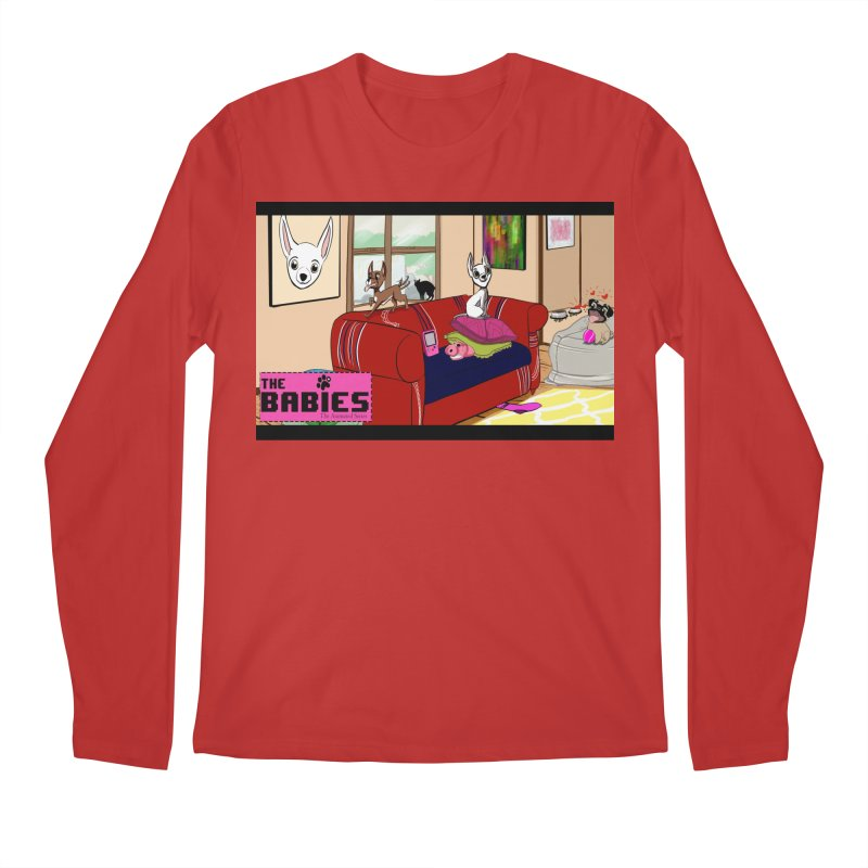 The Babies Animated Series  Men's Longsleeve T-Shirt by Bad Date Kate's Artist Shop