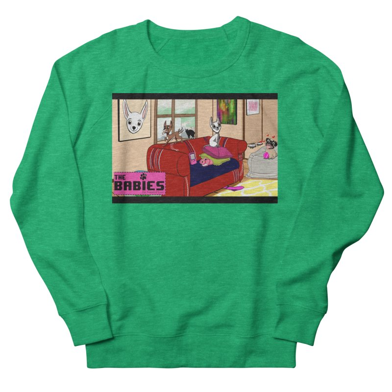 The Babies Animated Series  Women's Sweatshirt by Bad Date Kate's Artist Shop