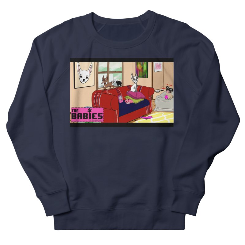 The Babies Animated Series  Men's Sweatshirt by Bad Date Kate's Artist Shop