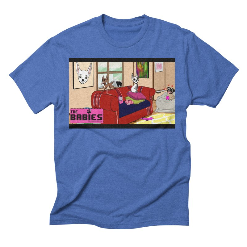The Babies Animated Series  Men's Triblend T-shirt by Bad Date Kate's Artist Shop