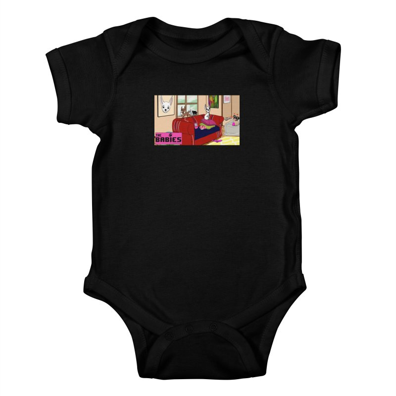 The Babies Animated Series  Kids Baby Bodysuit by Bad Date Kate's Artist Shop