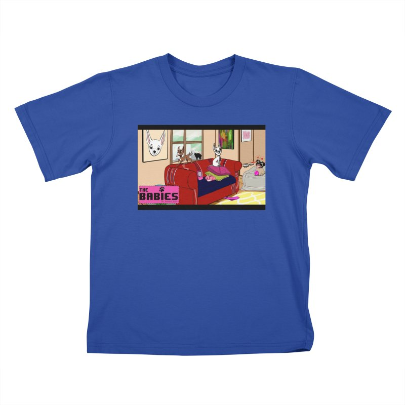 The Babies Animated Series  Kids T-shirt by Bad Date Kate's Artist Shop
