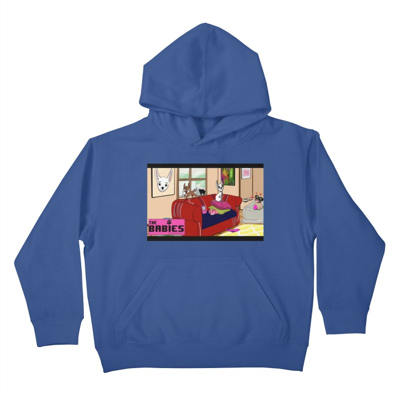 The Babies Animated Series  Kids Pullover Hoody by Bad Date Kate's Artist Shop