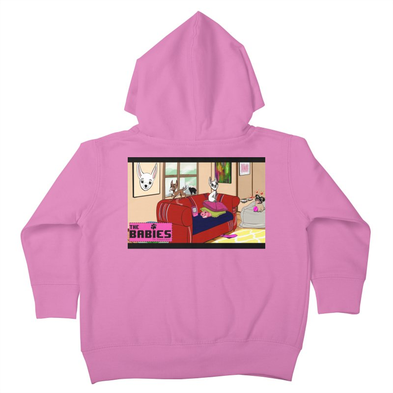The Babies Animated Series  Kids Toddler Zip-Up Hoody by Bad Date Kate's Artist Shop